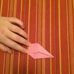 Schritt 5: Schnecke aus Papier falten