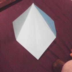 Schritt 4: Papagei aus Papier falten