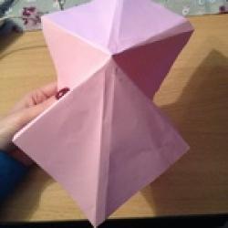Schritt 4: Kamel aus quadratischem Blatt Papier basteln
